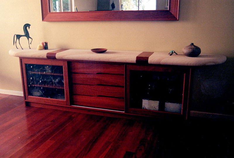 Mal Barrett Bespoke Furniture Newcastle Handmade Timber