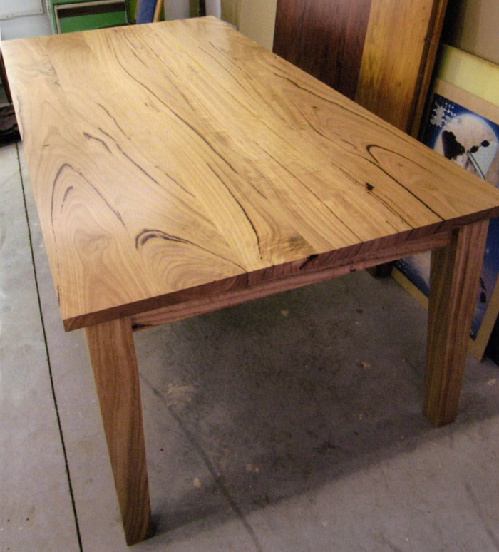 Mal Barrett Custom Built Tables Newcastle Handmade Tables And Chairs Using Australian